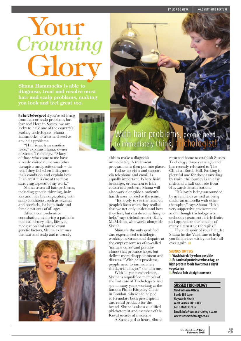 Your Crowning Glory – Sussex Living