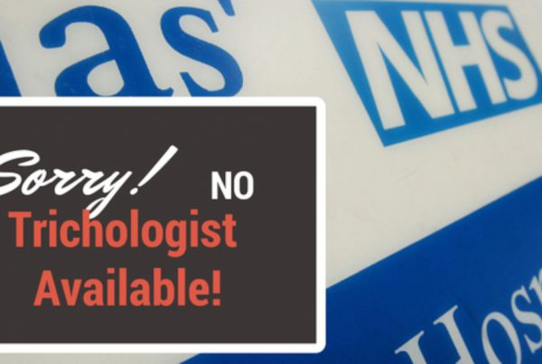 Can I see an experienced Trichologist on the NHS?